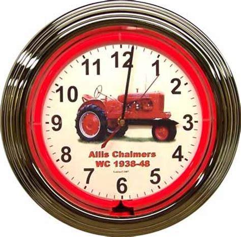 Ac Wc ac wc neon clock