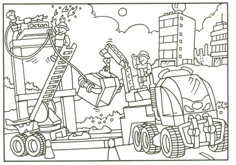 Ebricks Gratis Jack Stone Lego Kleurplaten The Tank Coloring Pages