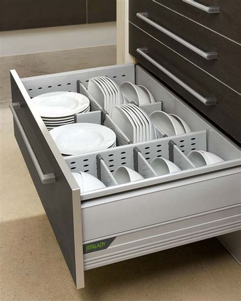 kitchen cabinet plate organizers 15 kitchen drawer organizers for a clean and clutter