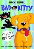 bad cat colour page a day 0761188258 bad kitty puppy s big day by nick bruel 9781250073303 paperback barnes noble