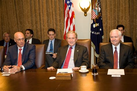 Bush Administration Cabinet by George W Bush Photos Photos President Bush Meets With