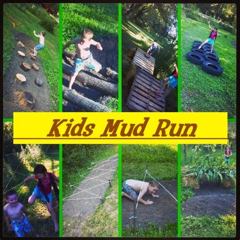 backyard cing party our little backyard farm kids mud obstacle course