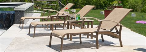 Telescope Casual Belle Isle Sling Furniture Collection Outdoor Furniture Usa