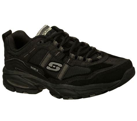 skechers sport shoes mens 50124 black skechers shoes new memory foam sport