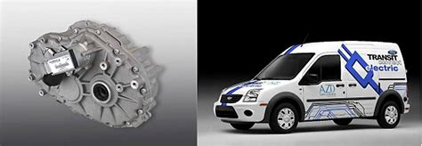 ford transit connect electric to use borgwarner transmission autoevolution