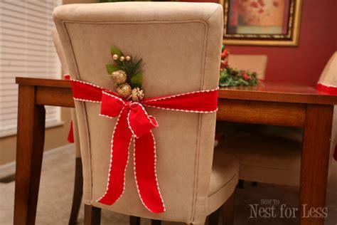 pinterest project parson chair covers christmas nest