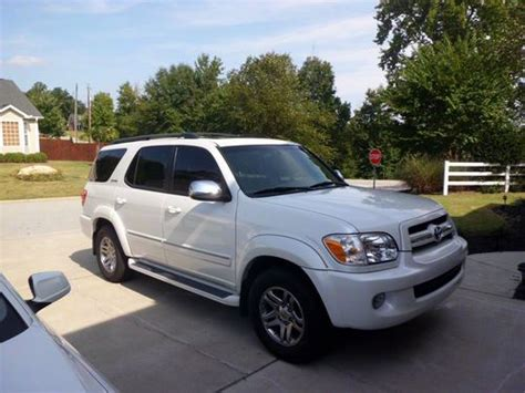 2007 Toyota Sequoia For Sale Sell Used 2007 Toyota Sequoia Limited In Taylors South