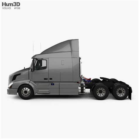 volvo truck 2011 models volvo vnl 630 tractor truck 2011 3d model hum3d
