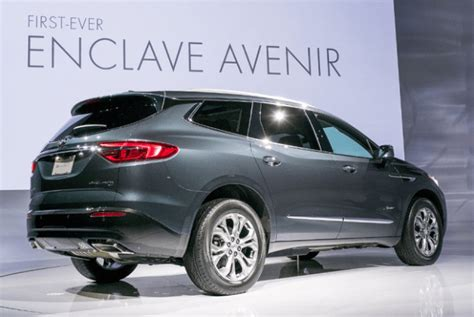 New Buick Suv 2020 by 2019 Buick Enclave Avenir Specs 2019 And 2020 New Suv