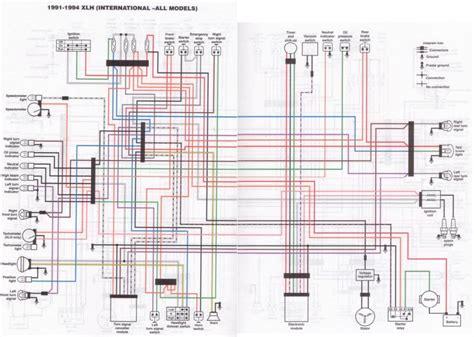 dd diagram  harley davidson softail wiring diagram