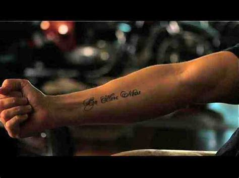 be here now tattoo beherenowfilm inside spartacus andy whitfield s