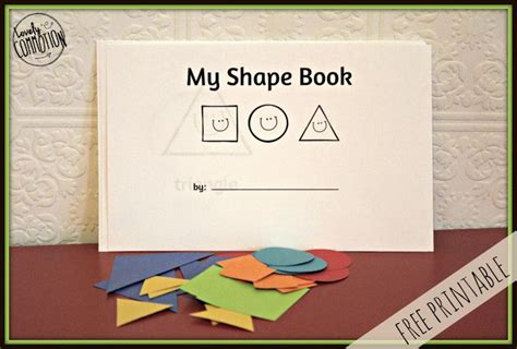 my pattern book kindergarten simple toddler shape book colored paper the shape and