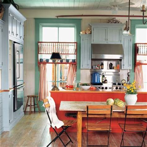colorful kitchen cabinets ideas rustic and relaxed how to create a colorful cottage