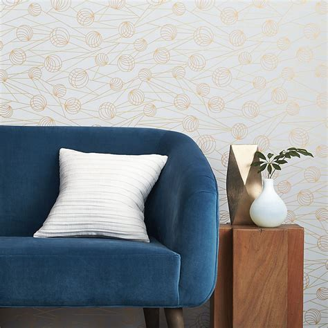 self adhesive removable wallpaper easy wall decorating ideas for renters interior design blogs
