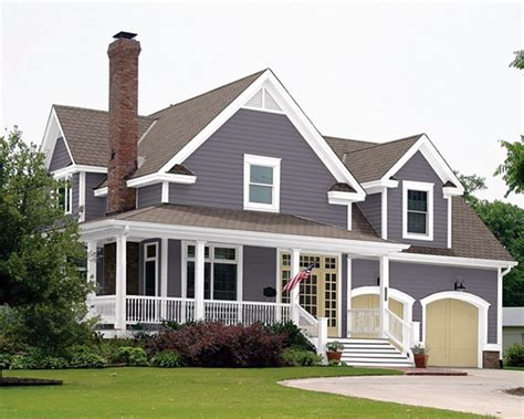 exterior house paint trends this color i especially like the contrasting garage doors