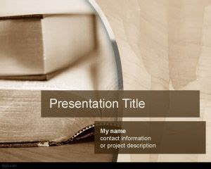 powerpoint templates books book powerpoint template free