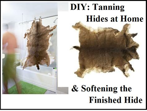 hide tanning diy diy tanning hides at home softening the finished hide the prepared page