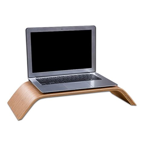 Laptop Stand For Desk Mac Fashionable Lapdesks Wooden Stand Dock Holder For Apple Macbook Original Samdi Wood Laptop