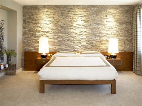 dormitorios con piedras stones in the bedroom