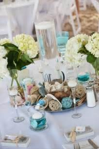 pics photos beach theme wedding centerpieces