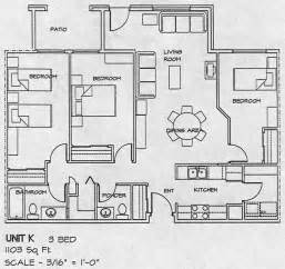 Three Bedroom Floor Plan by City Gate Housing Co Op Floor Plans