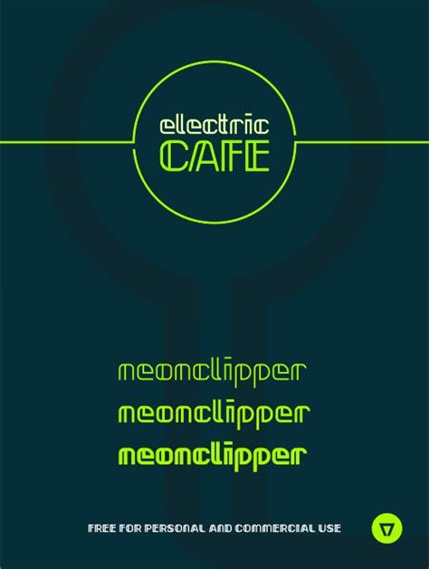 dafont neon neonclipper font dafont com