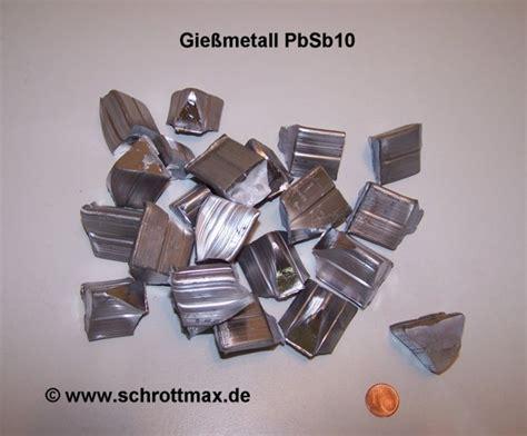 Blei Preis Pro Kilo by Hartblei Pbsb10 Klein 1 Kg