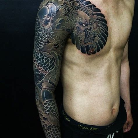 tattoo koi studio done by horihide david chu tattoo artist at black koi