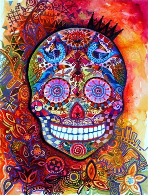 mexican area rugs colorful mexican 3x5 sugar skull artisan area rug