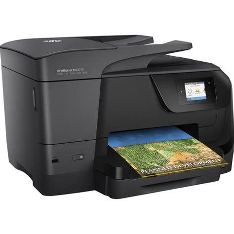 Printer Hp Officejet Pro X hp officejet pro 8710 all in one inkjet printer m9l66a b1h b h