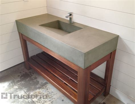 diy concrete bathroom sink sink traditional bathroom sinks new york by