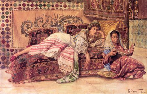 roxalana ottoman the reader rudolf ernst arab women harem life
