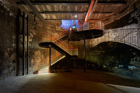design museum london entry tate harmer transforms part of brunel s thames tunnel in