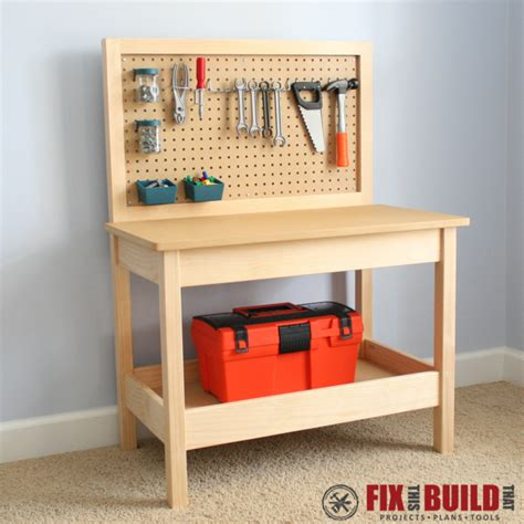 build a tool bench white workbench diy projects