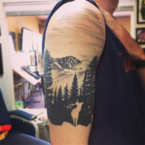 cin city tattoo billings mt montana tattoos of mountains and lakes montana