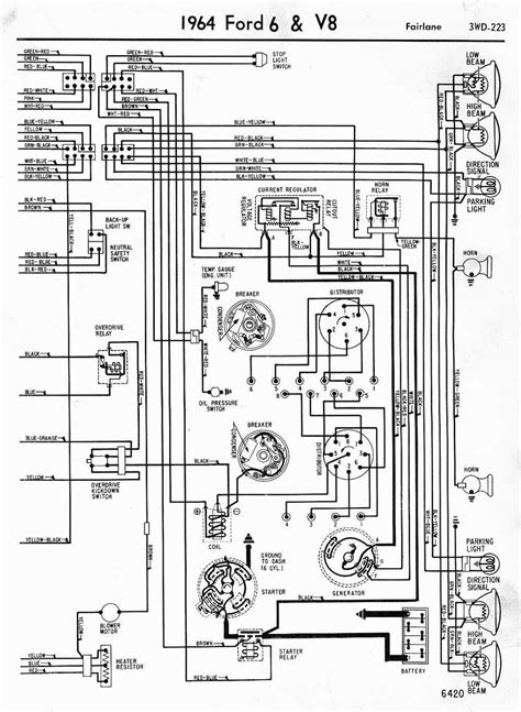 1956 ford f100 dash gauges wiring diagram all about f