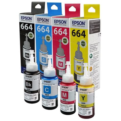 Tinta Epson 7741 Black Original epson ink bottles set of 4 buy epson ink bottles set