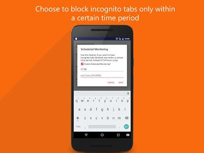 incognito away disable incognito tabs | app report on