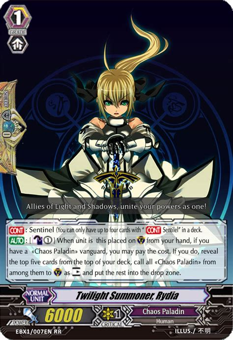 cardfight vanguard card template front and back cf v custom clan chaos paladins other tcg cards