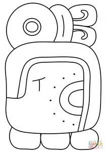imagenes de los mayas para imprimir dibujo de 11 186 mes maya sak para colorear dibujos para