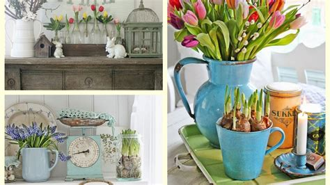spring decor 2017 farmhouse spring decor ideas rustic spring vignettes