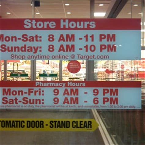 target store hours for target 22 photos 52 reviews department stores
