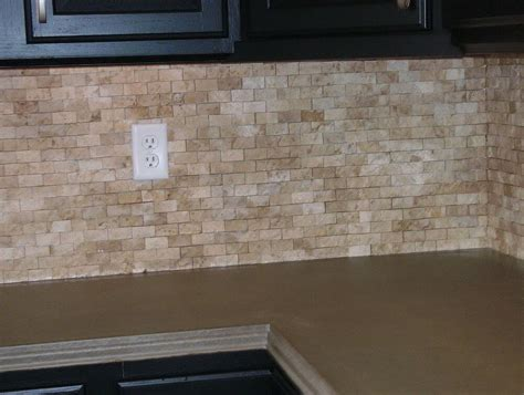 peel and stick backsplash for kitchen diy stone peel and stick stone of lowes kitchen backsplash