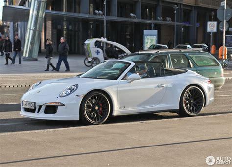 porsche convertible white porsche 991 carrera 4 gts cabriolet 10 april 2015