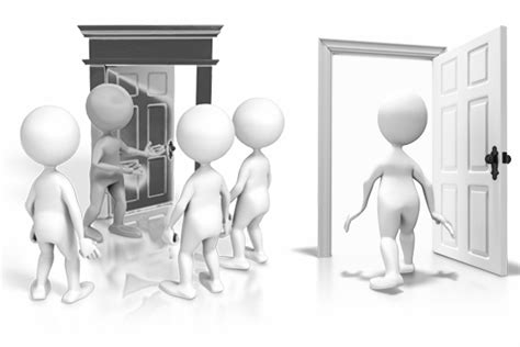 Walk Out The Door by Leaders And Accessibility Don T Just Open The Door Walk