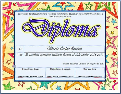 diplomas de primaria descargar diplomas de primaria actividades imprimibles para primaria diplomas para