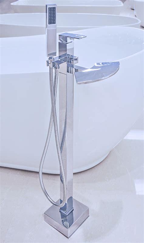 modern bathtub faucets udine modern freestanding bathtub faucet