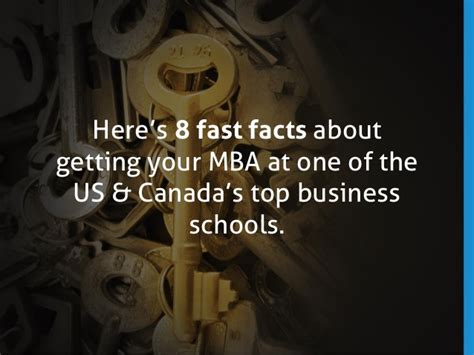 Interesting Facts About Mba by Slideshow 8 Fast Facts About American Mba Programs