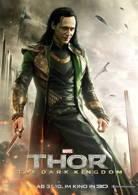 film thor dark kingdom thor the dark kingdom neues poster f 252 r loki kino