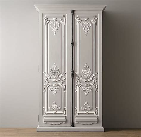 Armoire Hardware by 19th C Rococo Armoire
